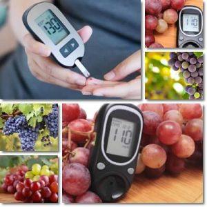 Posso mangiare l'uva se ho il diabete?