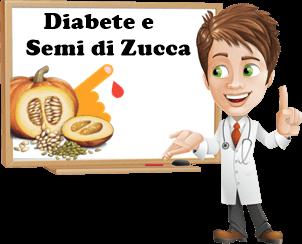 posso mangiare i semi di zucca se ho il diabete