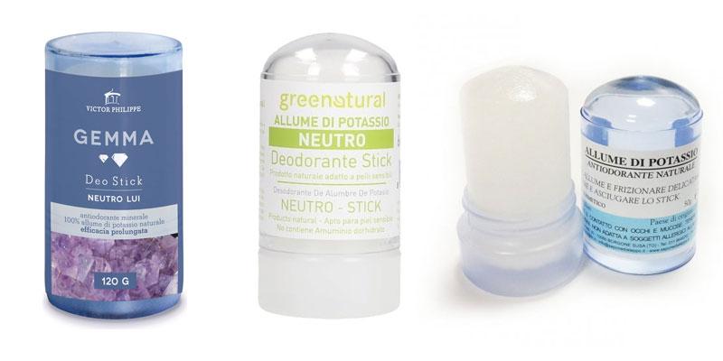Recensione Deodorante allume di potassio