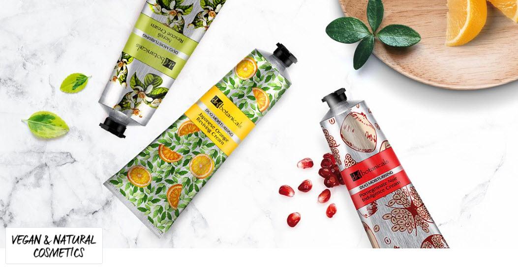 Prodotti cosmetici Dr Botanicals vegani e privi di parabeni scontanti fino all'80% oggi